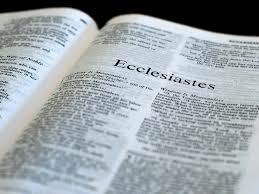 Series: Ecclesiastes