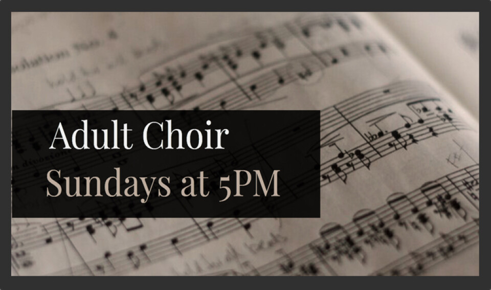 Adult Choir 5PM