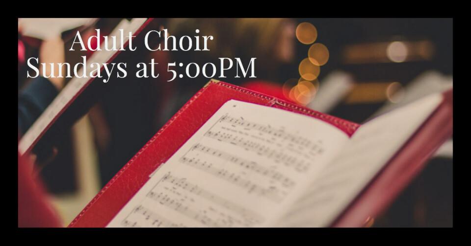 Adult Choir 5PM