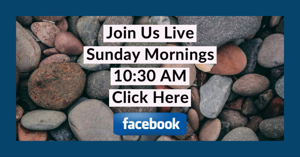 10:30 am Worship on Facebook Live