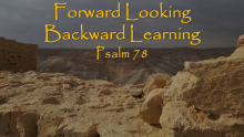 Forward Looking, Backward Learning- Doctor Matt Brady